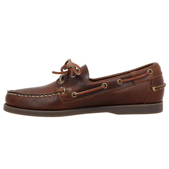 Chaussures bateaux homme sebago docksides cuir homme chocolat chocolat Sebago