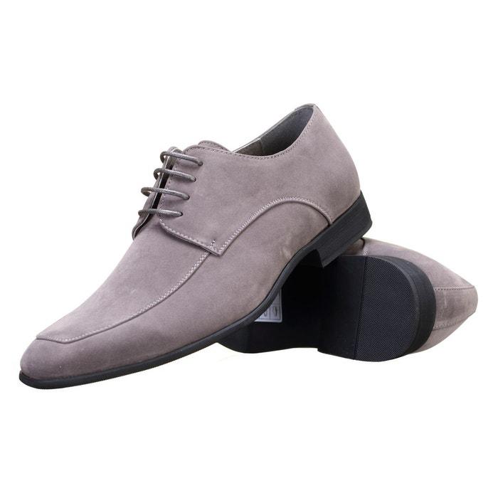 Chaussure derbie à lacets gris Goor
