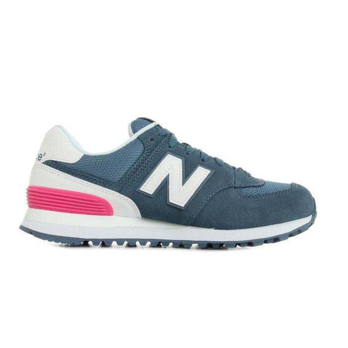 Wl574 bleu/blanc/rose New Balance