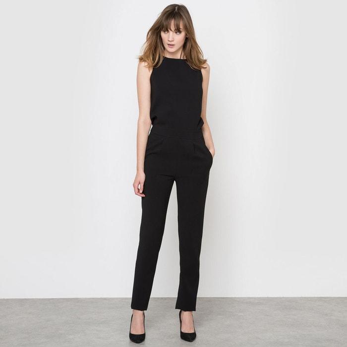 combinaison pantalon noir mademoiselle r la redoute. Black Bedroom Furniture Sets. Home Design Ideas