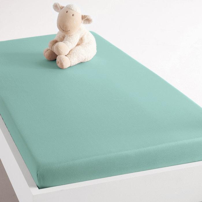 Image Drap-housse pour lit bébé en coton SCENARIO