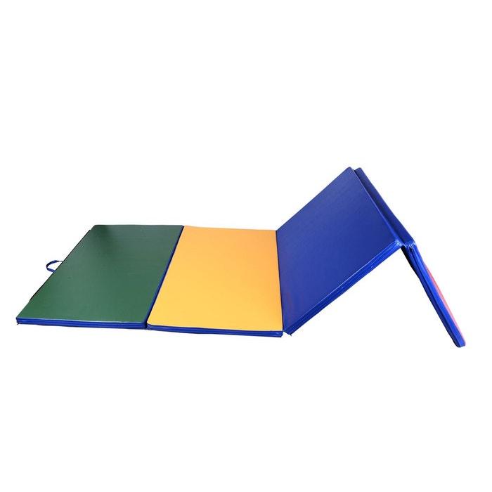 tapis gymnastique multicolore 305l x 122l cm homcom image 0 - Tapis Gym