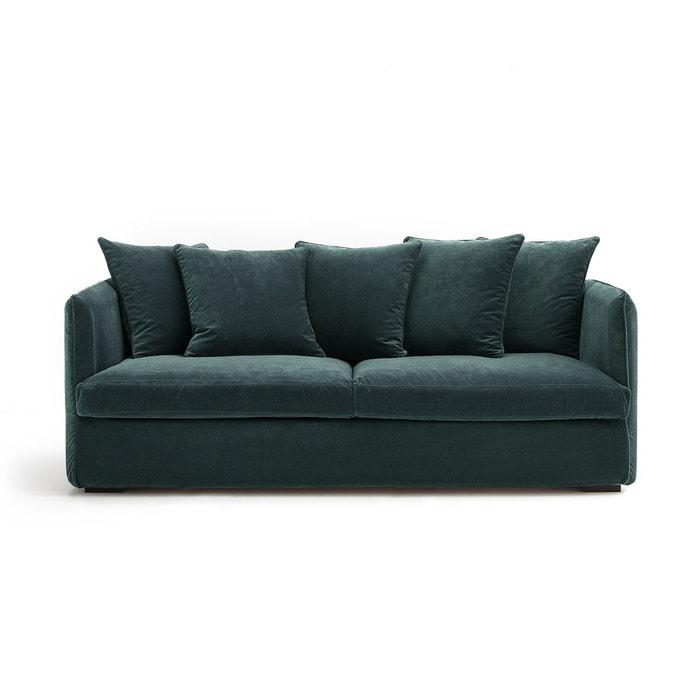 canap convertible neo chiquito velours am pm la redoute. Black Bedroom Furniture Sets. Home Design Ideas