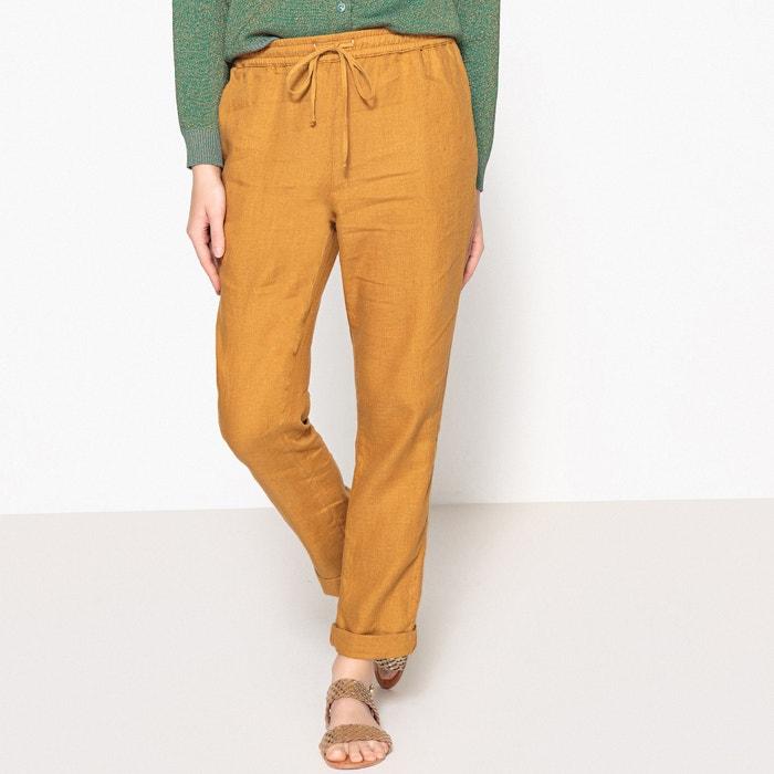 Pantaloni fluidi in lino tinta unita LIMON  HARRIS WILSON image 0