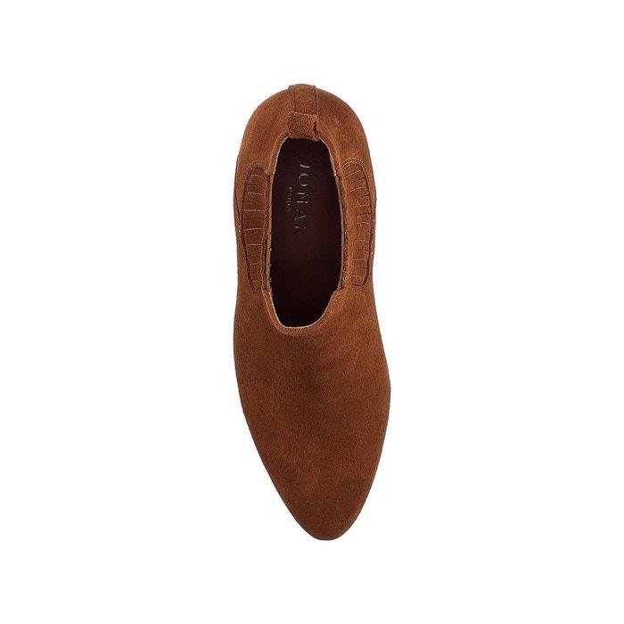 Tan Redoute Cuir La Boots Jonak Debina avnwqE