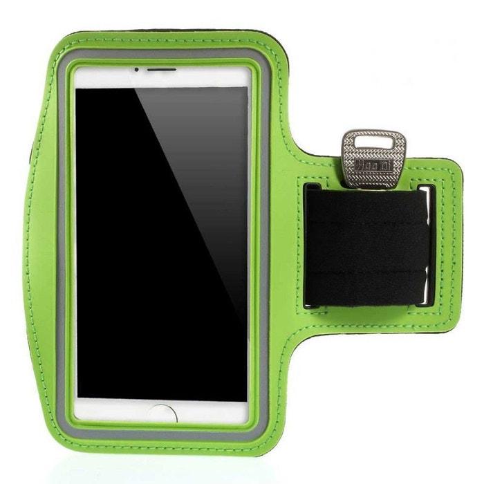 Brassard sport t l phone cran 5 5 pouces n oprene vert vert amahousse la redoute - La redoute telephone gratuit ...