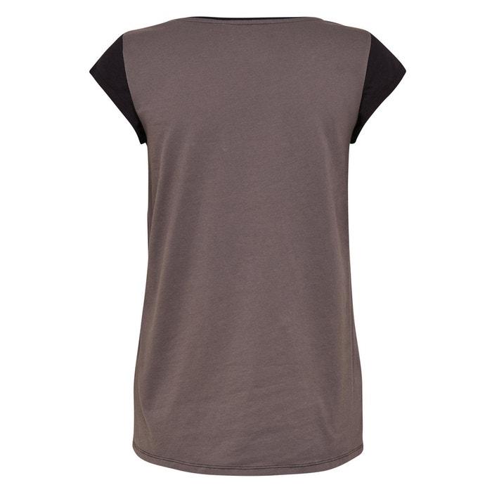 cuello Camiseta PLAY manga corta de ONLY redondo xqHPATXwF