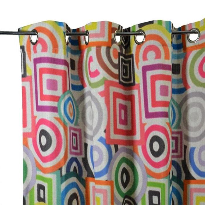 Rideau multicolore multicolore Home Maison   La Redoute