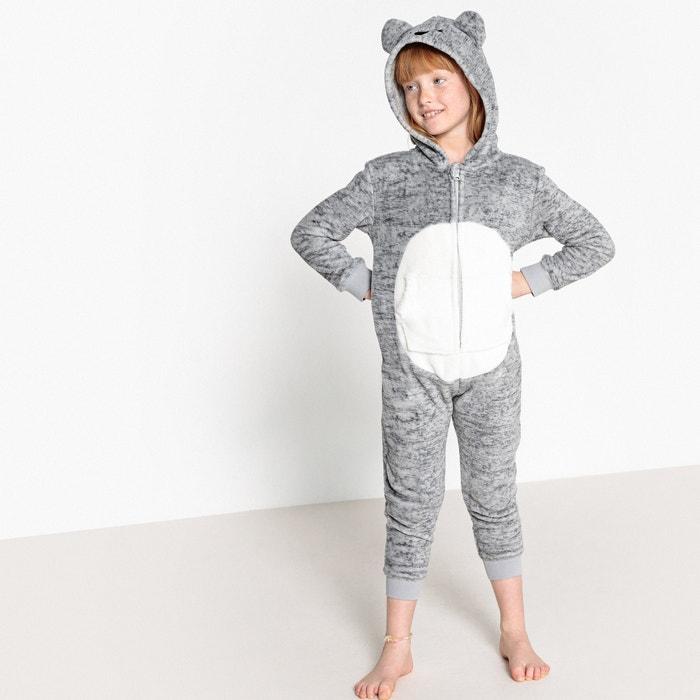 70d71256b8748 Combinaison pyjama koala 3-12 ans La Redoute Collections gris