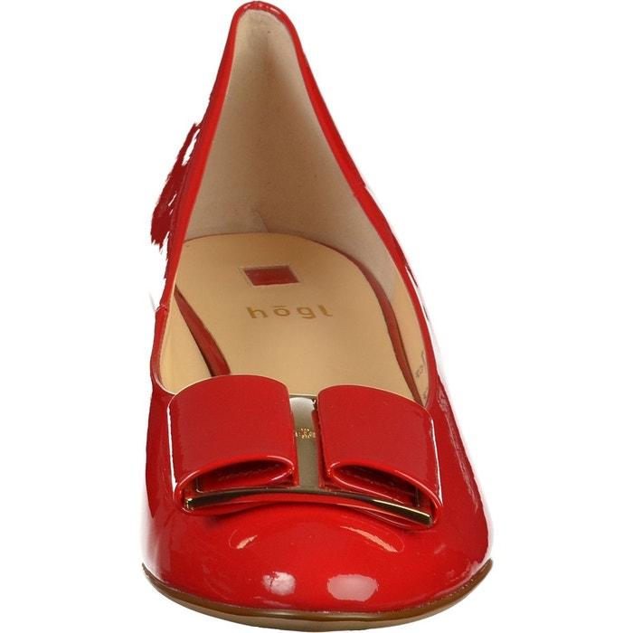 Escarpins rouge Hogl