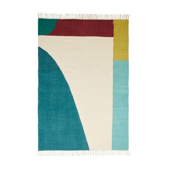 Plat geweven tapijt in wol ANKARA  La Redoute Interieurs image 0