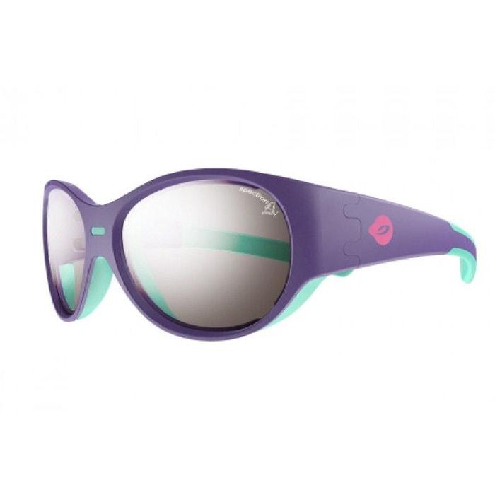 Lunettes de soleil pour bébé julbo violet puzzle violet   turquoise - spectron  4 baby violet Julbo   La Redoute 150334b92ab8