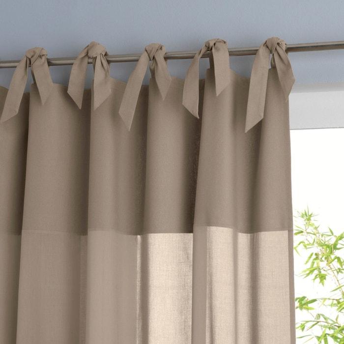 Image Tenda puro cotone con laccetti, OSMAIN La Redoute Interieurs