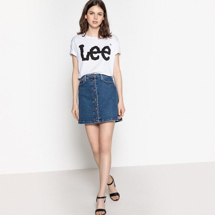 LEE redondo cuello Camiseta con con LEE Camiseta redondo cuello Camiseta LEE con AwqnIxUYx