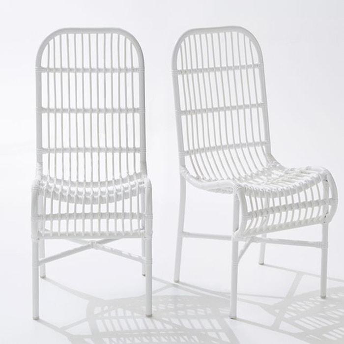 Chaise de jardin MOBASSA (lot de 2)  La Redoute Interieurs image 0