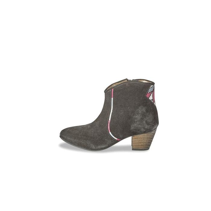 Boots cuir Vuber