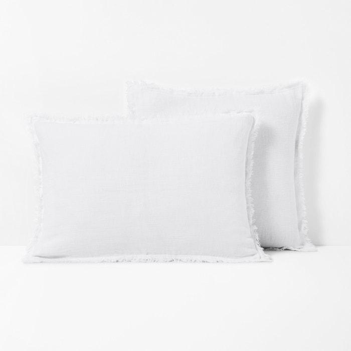 Federa per cuscino puro lino lavato LINANGE  La Redoute Interieurs image 0