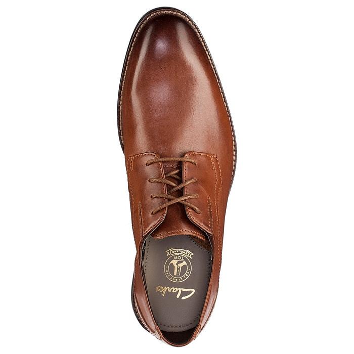 piel Walk de Zapatos richelieus CLARKS Prangley UtvHwq