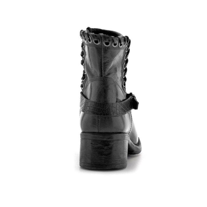Boots cuir buell - Bunker