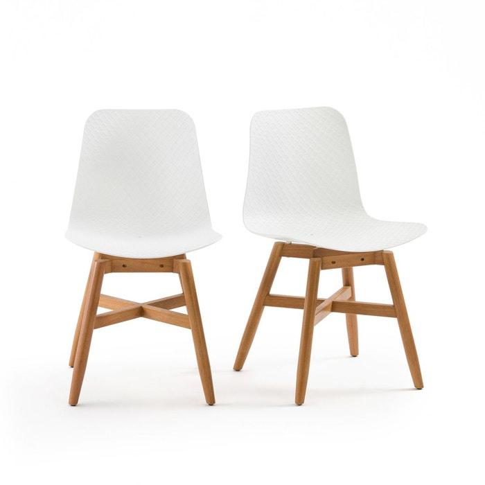 chaise ramajet lot de 2 la redoute interieurs la redoute. Black Bedroom Furniture Sets. Home Design Ideas