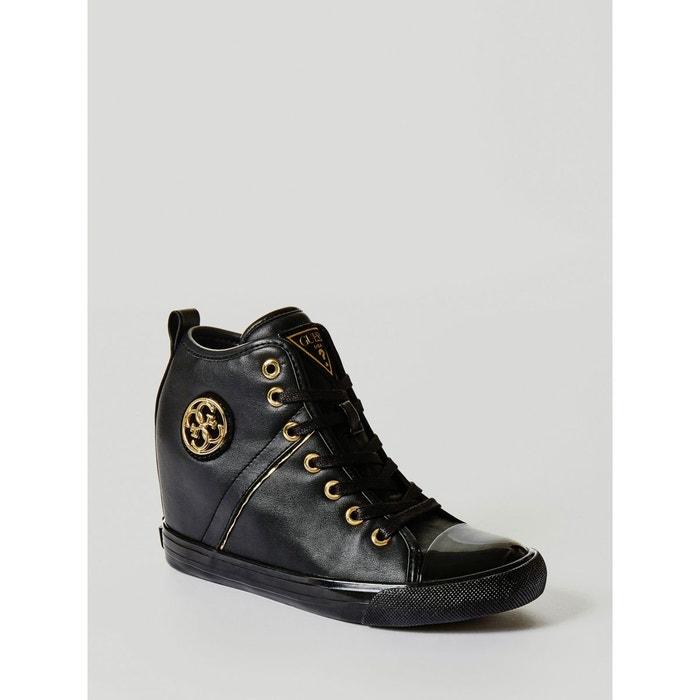 Acheter Visite Pas Cher Sneaker compensee jilly noir Guess Qualité Supérieure Vente Meilleur Pas Cher Bonne Prise Vente Fkd3NGC