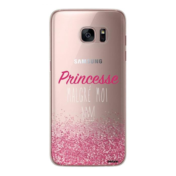 Coque samsung galaxy s7 rigide transparente, princesse malgré moi Evetane    La Redoute 1f9bbab87998