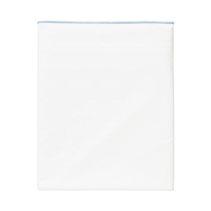 drap plat astor en percale de coton bleu bleu designers guild la redoute. Black Bedroom Furniture Sets. Home Design Ideas
