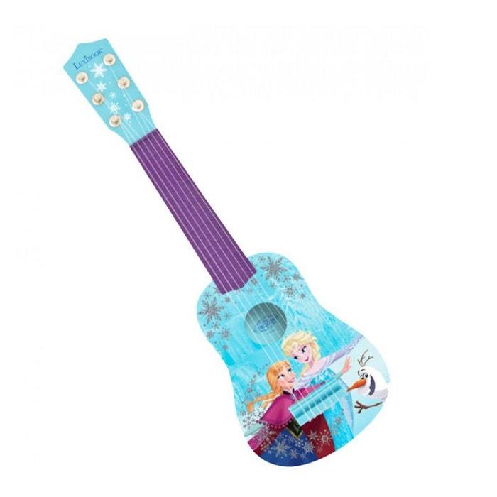 la reine des neiges ma premi re guitare lexk200fz bleu. Black Bedroom Furniture Sets. Home Design Ideas