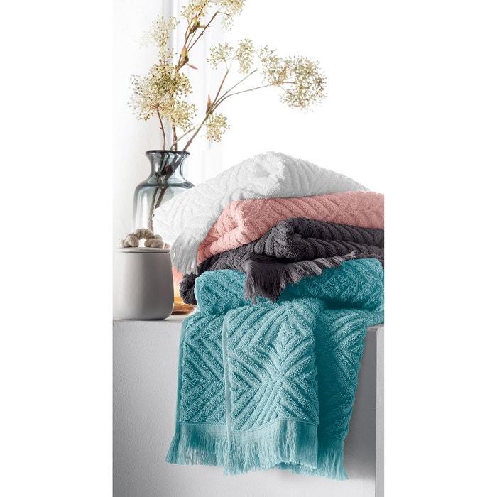 serviette de toilette ponge 450g m chevron la redoute interieurs la redoute. Black Bedroom Furniture Sets. Home Design Ideas