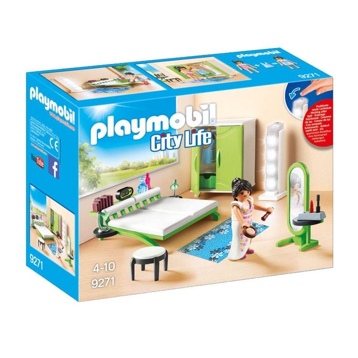 chambre avec espace maquillage pla9271 couleur unique. Black Bedroom Furniture Sets. Home Design Ideas