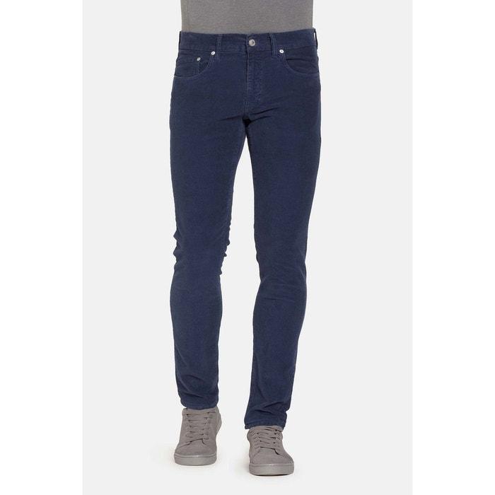 Carrera Unie Redoute Pantalon 5 JeansLa Couleur Poches wOkZP8Nn0X
