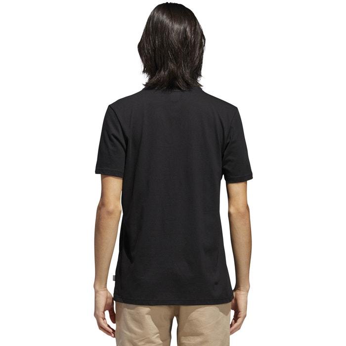 redondo estampado con Camiseta de corta originals cuello y Adidas delante manga xnCapa