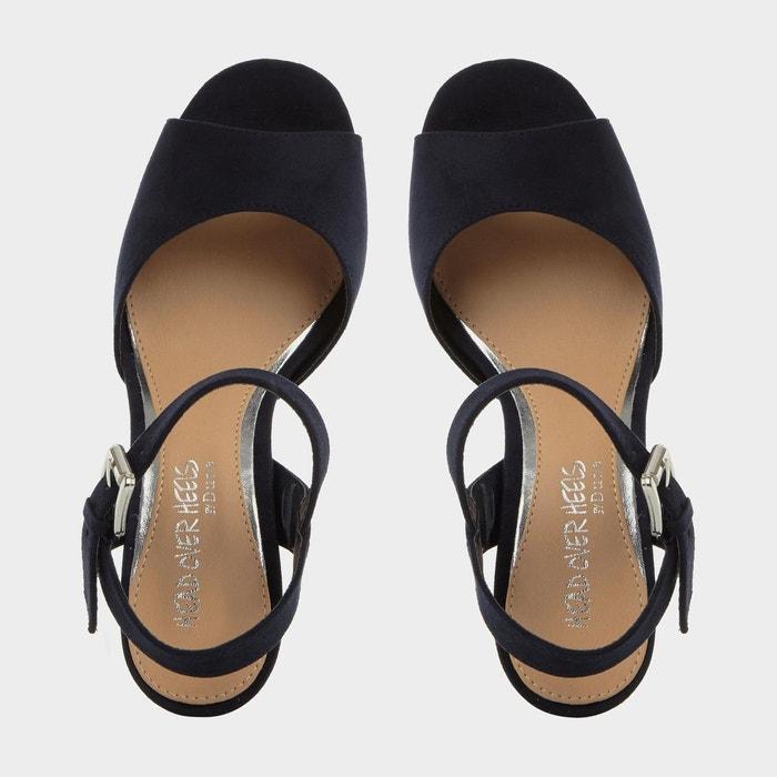 Sandales en deux parties à talons bottiers - jewel Head Over Heels By Dune
