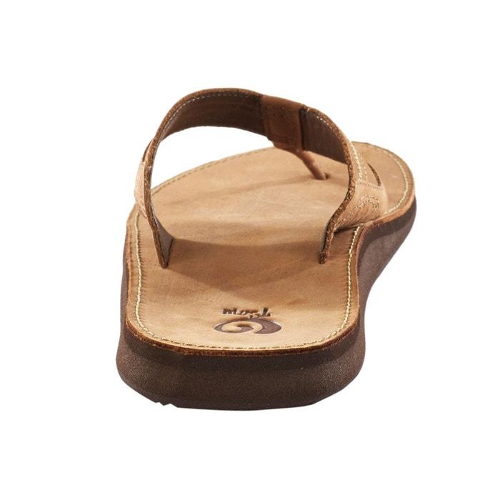 Benson - tongs homme - brun marron Teva
