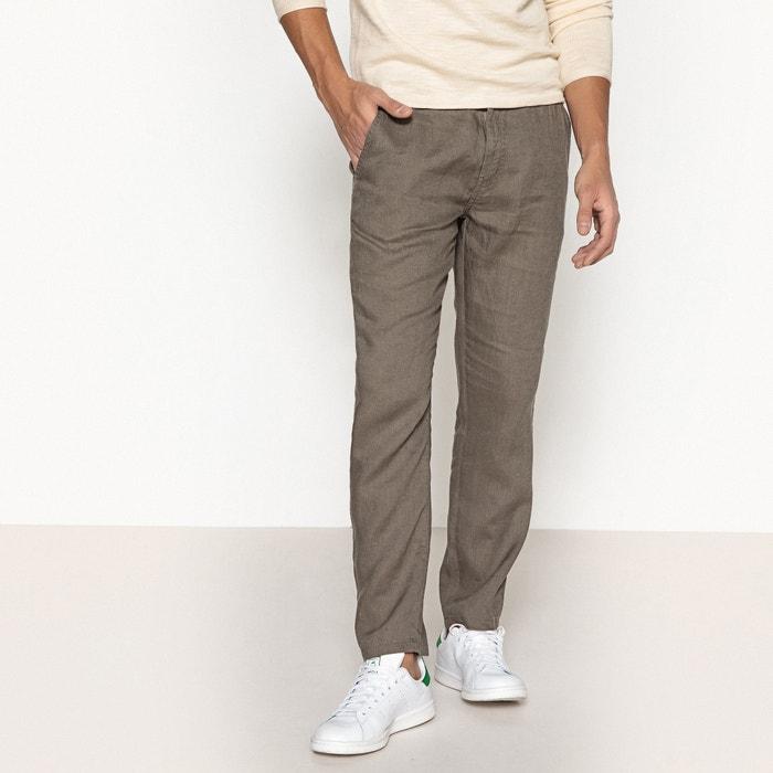 Pantaloni in lino 7/8  La Redoute Collections image 0