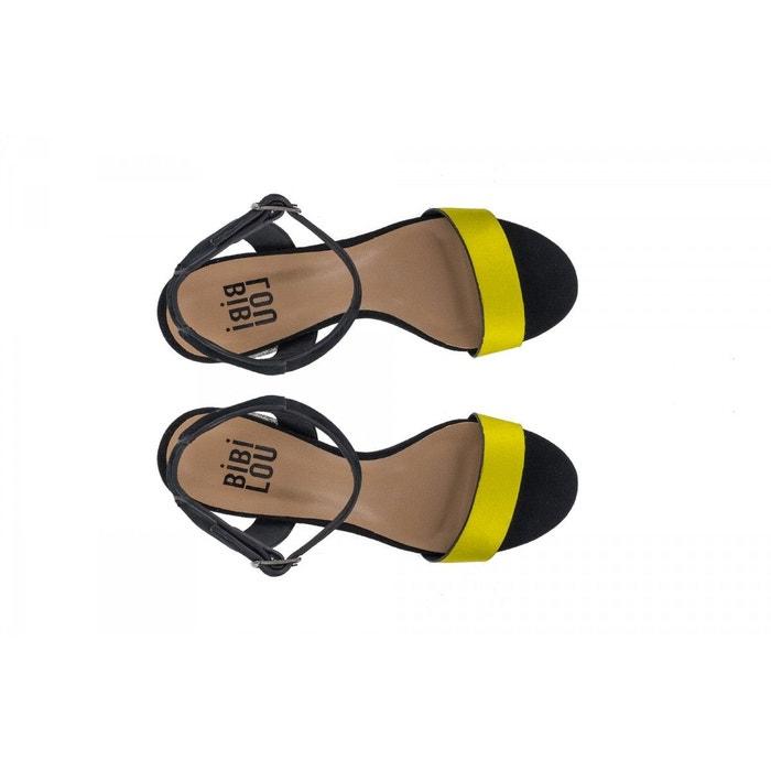 Sandales-bibi lou jaune Bibi Lou