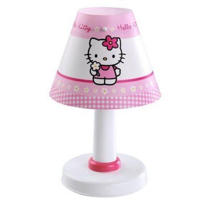 lampe de table hello kitty dalber 21251 multicolore dalber la redoute. Black Bedroom Furniture Sets. Home Design Ideas