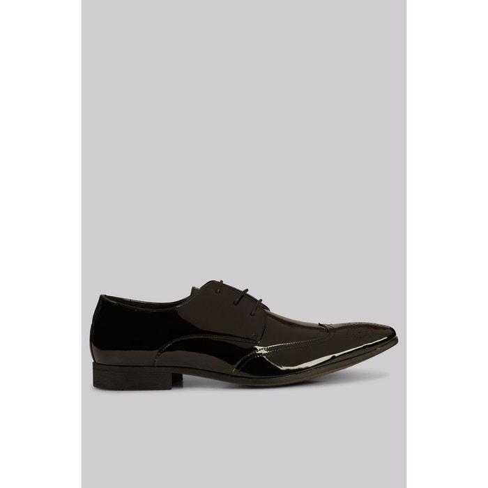 Chaussures richelieu vernis noir Moss London