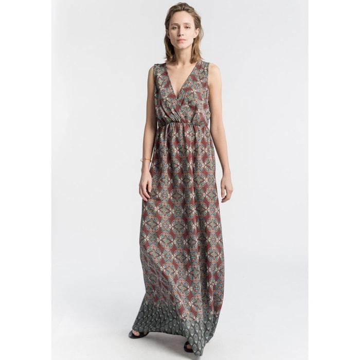 robe longue imprim ethnique coloris unique la fee maraboutee la redoute. Black Bedroom Furniture Sets. Home Design Ideas