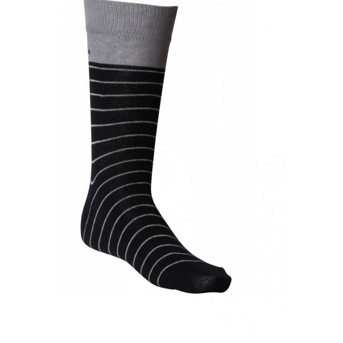 chaussettes pur coton pour homme bleu ray dymastyle la redoute. Black Bedroom Furniture Sets. Home Design Ideas