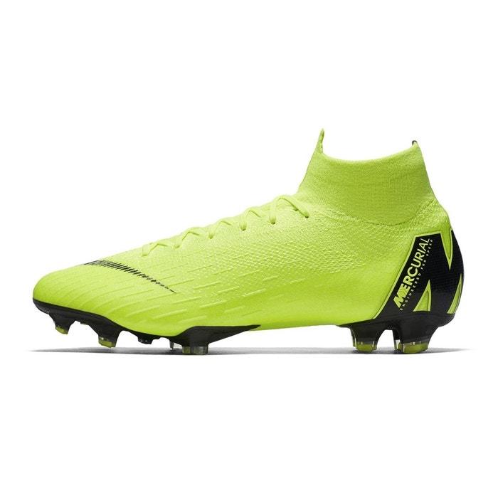 f3b665e5c3 Chaussures football nike mercurial superfly 360 vi elite df fg jaune jaune  Nike   La Redoute