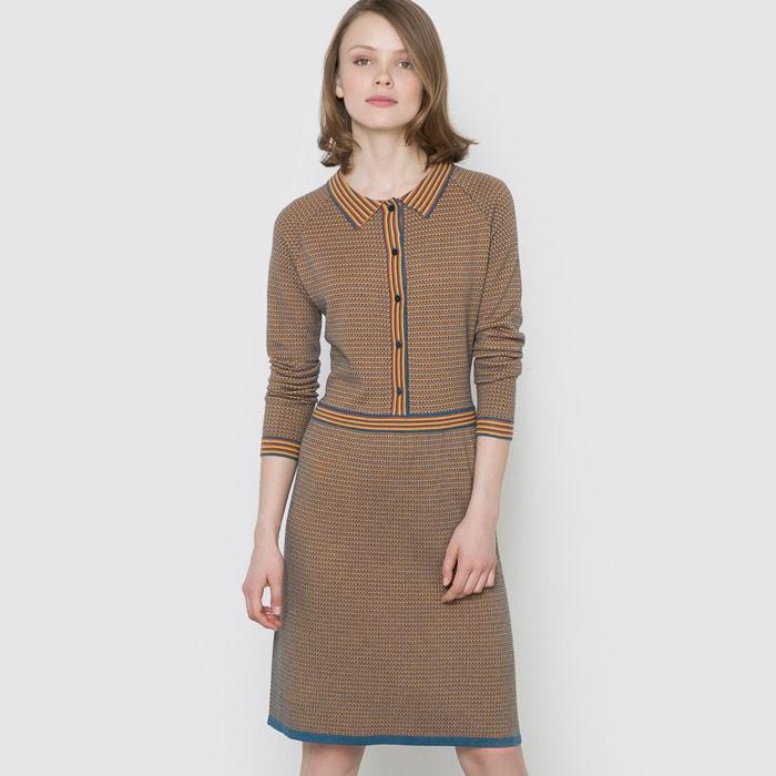 Image Jacquard Knit Dress MADEMOISELLE R