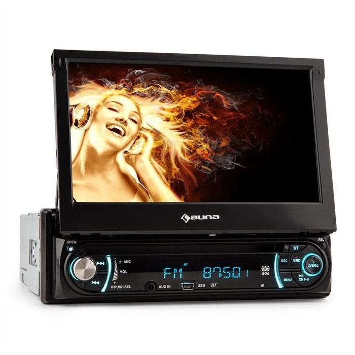 """auna MVD-330 Autoradio multimedia Bluetooth écran tactile 7"""" USB SD MP3 AUX AUNA"""