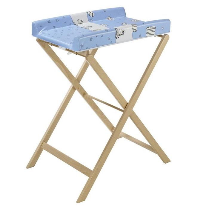 table a langer trixi naturel avec matelas z bre geuther naturel geuther la redoute. Black Bedroom Furniture Sets. Home Design Ideas
