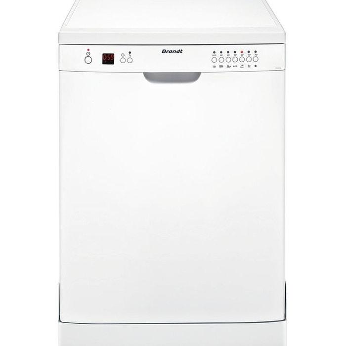 lave vaisselle 60cm brandt dfh 12227w blanc brandt la. Black Bedroom Furniture Sets. Home Design Ideas