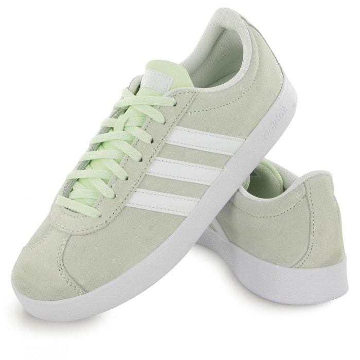 Vl court 2.0 vert Adidas