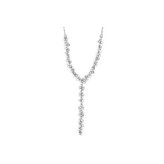 Collier grappe d'anneaux en argent 925 passivé, 5g argent Canyon | La Redoute