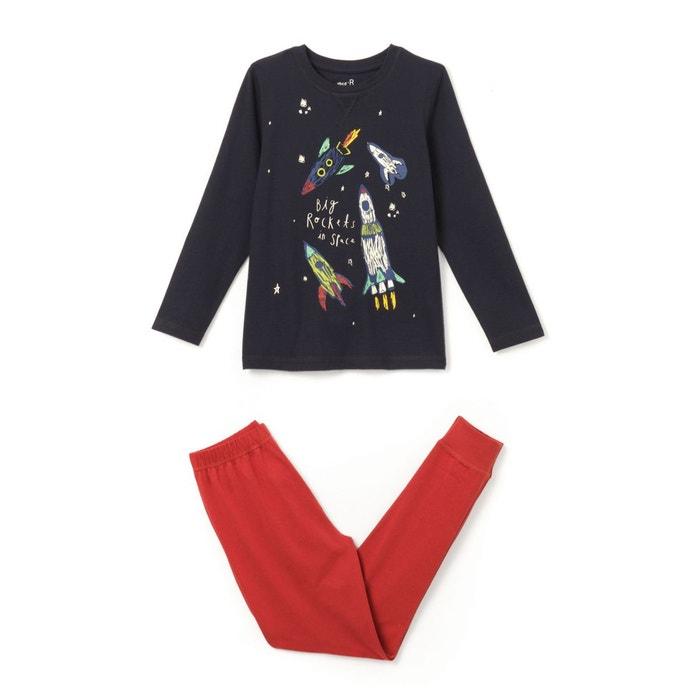 Pyjama imprimé phosphorescent 3-12 ans
