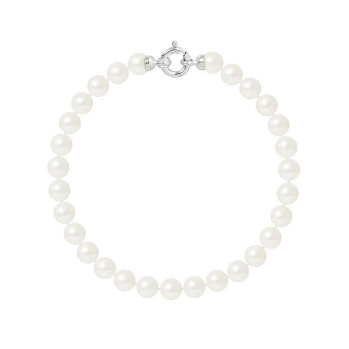 Bracelet or 375°°° rang véritables perles Perlinstinct | La Redoute Style De Mode De Prix Pas Cher URgnK