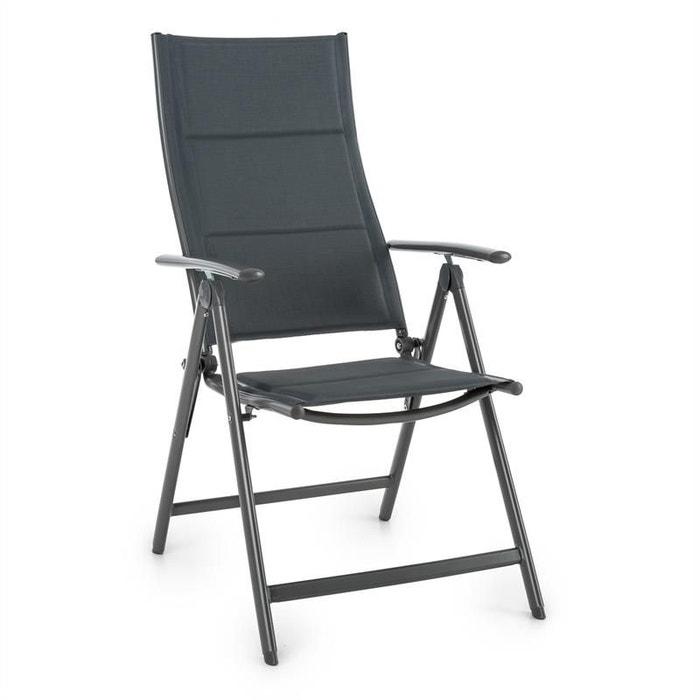 Blumfeldt Stylo Noble Grey Chaise De Jardin Pliante Aluminium Gris BLUMFELDT Image 0